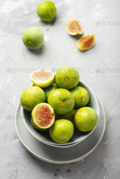 Sweet green figs