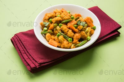Phool Gobi Sabzi / Cauliflower Fry