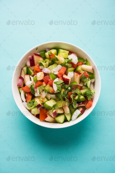 Kachumber / Indian Green Salad