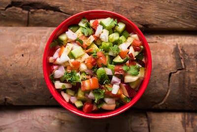 Kachumber / Indian Green Salad