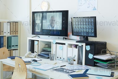 Telemedicine Equipment in Clinic