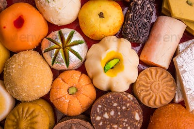 Indian Sweets or Mithai