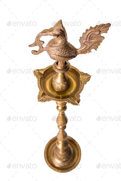 Samai or Brass Oil Diya