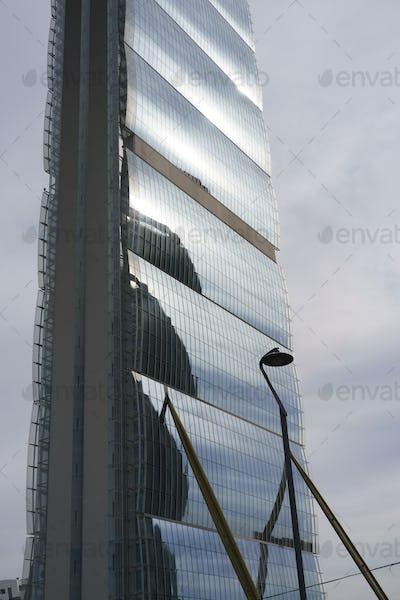 Isozaki tower at Citylife, Milan