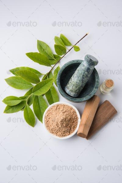 Chandan or Sandalwood Powder and Oil or Perfume