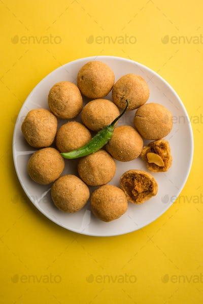 Ball Kachori or Dry Fruit Kachori