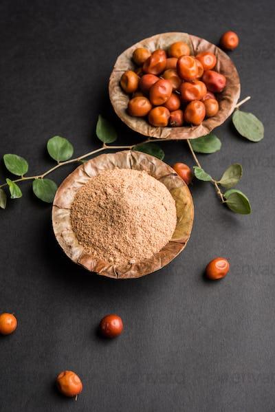 Borkut or Indian Jujube ber Powder