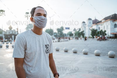 wearing face masks on new normal