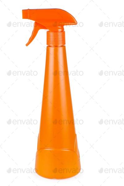Orange plastic sprayer