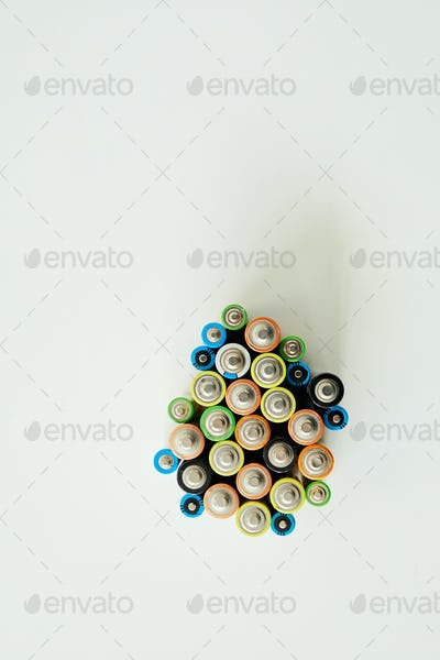 Sorting alkaline battery