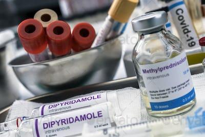Diverse medication prepared to treat Kawasaki disease related to Sars-CoV-2