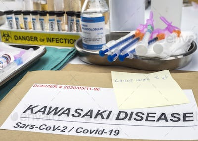 Diverse medication prepared to treat Kawasaki disease related to Sars-CoV-2