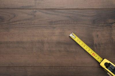 Tape Measure On Table