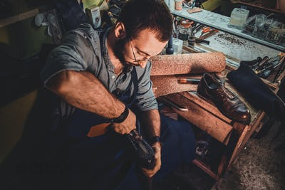 Process of creating a pair of boots
