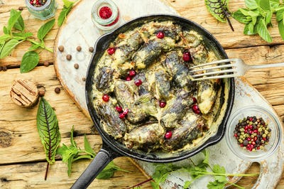 Eastern dolma or sarma