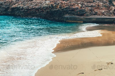 Beach with azure waters on Palma