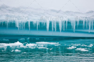 Icebergs and ice in the Southern Ocean
