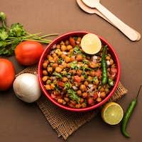 Black Chickpea Chaat or Kala Chana Chat recipe