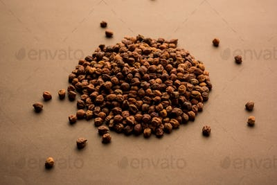 Black Chick Pea or Kala or Brown Chana