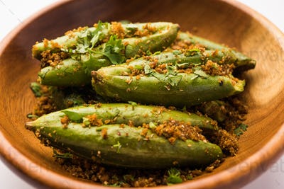 Bharwa Parwal or Stuffed Pointed Gourd Recipe, Indian healthy meal