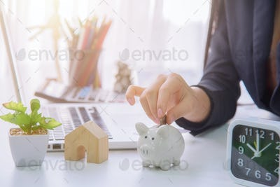 Money savings concept.