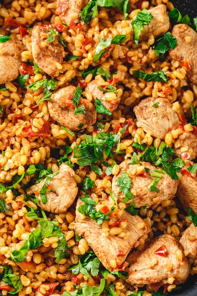 Cous Cous whit meat and vegetables