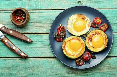 Fried eggs or scrambled eggs