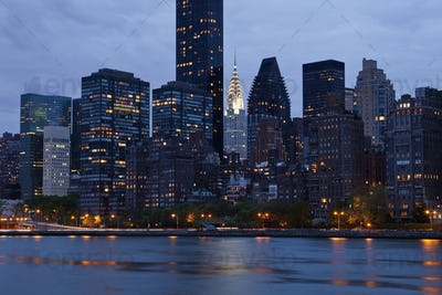 New York City From Across the Water