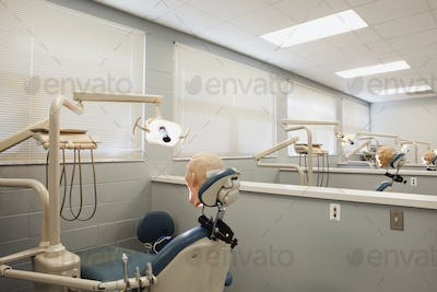 Shot of Room in Dental School