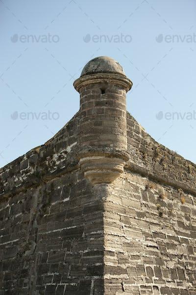Truuet at Castillo de San Marcos