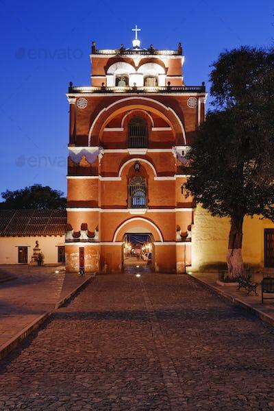 El Arco del Carmen at Dusk