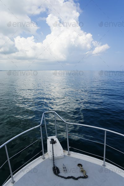 View of Ocean from Boat