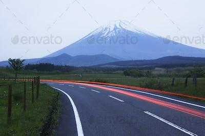 Road Near Mount Fuji