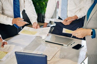 Meeting of financial managers