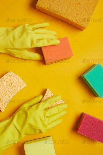 Sponges for housework