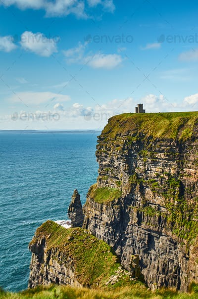 View at O' Brien's Tower at Cliffs of Moher