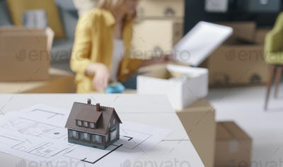 Home renovation and relocation
