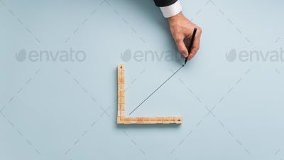 Conceptual image of economy and finance