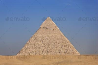 Great Pyramid of Giza (Pyramid of Khufu, Pyramid of Cheops), El Giza, Egypt.