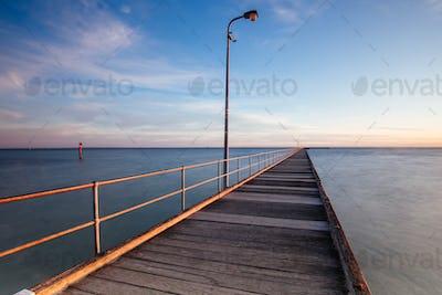 Rye Pier at Sunrise in Australia