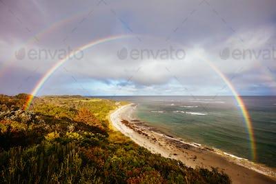 Flinders Ocean Beach in the Mornington Peninsula Australia