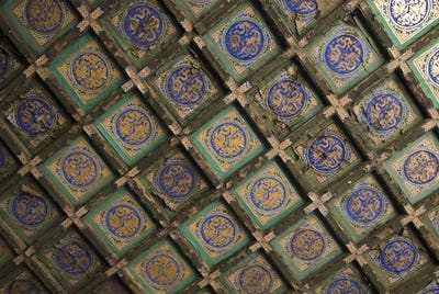 45583,Ceiling Tiles in the Forbidden City