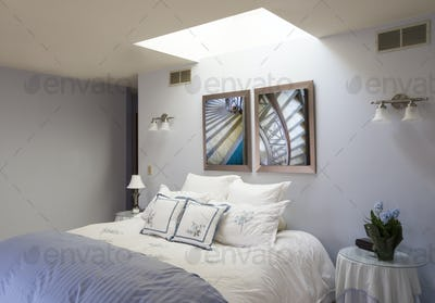 54691,Skylight over bed