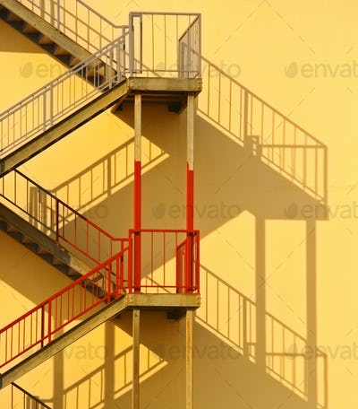 50053,Fire Escape and Shadow
