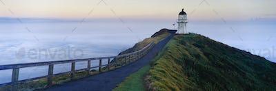 51188,Cape Reinga Lighthouse at Dawn