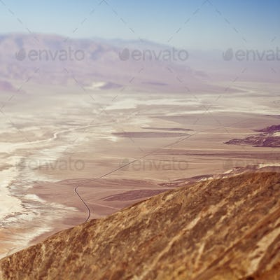49553,Aerial View of Desert Valley