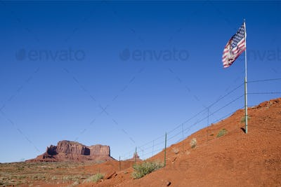 50623,US Flag in the Desert