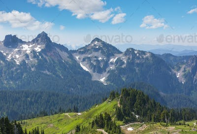 Mountains in Washington