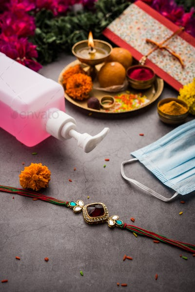 Raksha Bandhan or Rakhi Festival in Corona or Covid-19 Pandemic