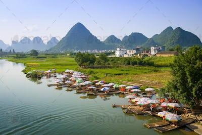 Yangshuo, China on the Li River